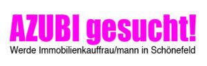 Azubi gesucht - Immobilienkaufmann / Immobilienkauffrau